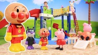 アンパンマン おもちゃ プール Anpanman Peppa Pig Pool Toy