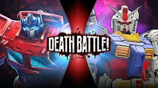 Optimus Prime VS Gundam (Transformers VS Gundam) | DEATH BATTLE!