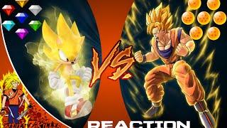 SONIC VS GOKU!!! Cartoon Fight Club Reaction