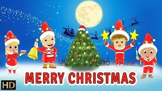 Merry Christmas (HD) Songs for Kids | Plus Lots More Christmas Songs Collection | 30 Mins