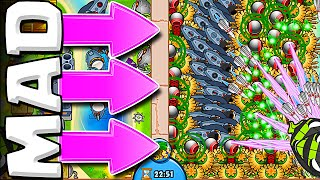 ABSOLUTE MADNESS  ::  Bloons TD Battles  ::  VILLAGES ARE INSANE!