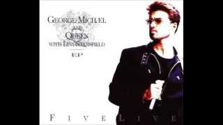 George Michael with Queen - Somebody to love (live)