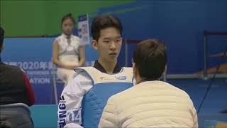 [QUARTER FINALS]M-68kg, Seok Bae(KOR) VS Mirhashm Hosseini(IRI)