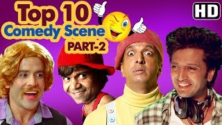 Top 10 Comedy Scenes {HD} Ft - Rajpal Yadav | Johnny Lever | Govinda | Kadar Khan | IndianComedy