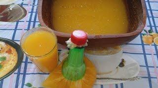 طريقة تحضير عصير مركز البرتقال لشهر رمضان / chhiwat om akram _ EP 147