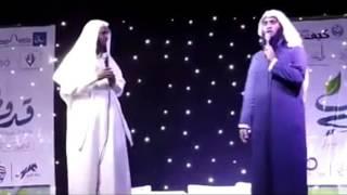 """محاضره """"قدوتي""""كامله للشيخان منصور السالمي ونايف الصحفي"""