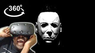360 Michael Myers || HTC Vive VR REACTION
