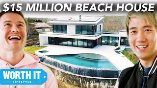$825K Beach House Vs. $14.9 Million Beach House