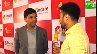 Viswanathan Anand: I Am Learning To Keep Going From Roger Federer | Sports Tak