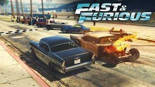 GTA V - Fast & Furious 8 CUBA RACE