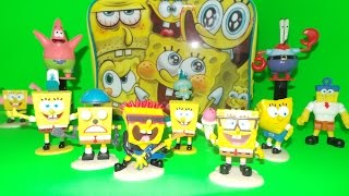 🏖 Spongebob Squarepants Lunchbox Toy Surprises - Epic Characters Unwrapping