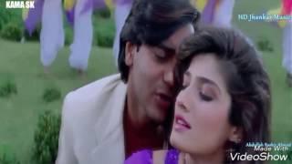 Aankhon Mein Mohabbat Hai.Gari 1999 Bollywood Songs Ajay Devgn Raveena Tandon (kamalsk) 1080p