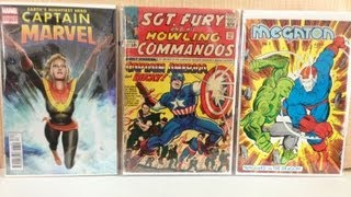 GIANT SIZE COMIC BOOK BUYS/HAUL #2 (ALL-NEW ALL-DIFFERENT!)