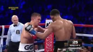 GENNADY GOLOVKIN VS DANIEL JACOBS  (highlights)