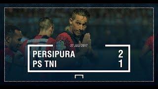 Persipura 2 - 1 PS TNI | Highlight - All Goal | Liga 1 G0-JEK TRAVELOKA 2017