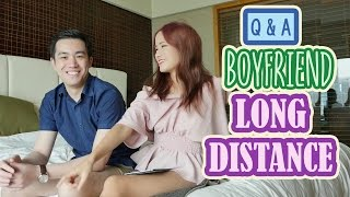BOYFRIEND Q&A | Coping with LONG DISTANCE | KimDao Q&A
