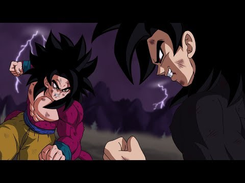 Goku vs. Evil Goku IV