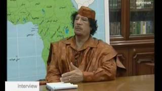 interview - Colonel Gaddafi
