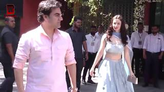 Arbaaz Khan Her New Girlfriend With Ex-Wife Maliaka Arora Arrives At Arpita Khan Visit Ganpati