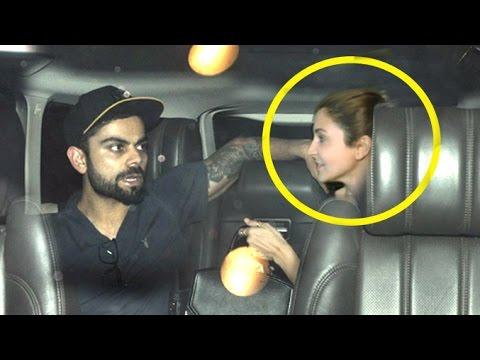 Xxx Mp4 Too CUTE Virat Kohli Drops Anushka Sharma At Airport 3gp Sex