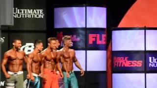 2014 Mr  Olympia Men's Physique top 5
