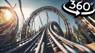 360 Video VR Roller Coaster 360 VR for VR Box 360 Google Cardboard VR 360 4K