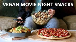 VEGAN MOVIE NIGHT SNACKS