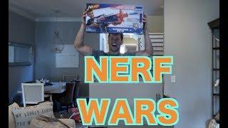 NERF WARS!!! | Shawn Johnson