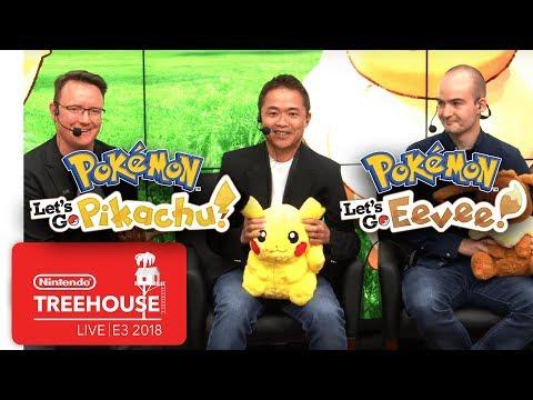 Pokémon Let s Go Pikachu & Pokémon Let s Go Eevee Nintendo Treehouse Live E3 2018