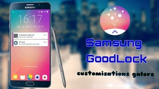 Samsung GoodLock app-Review! (Note5)