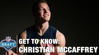 Get to Know: Christian Mccaffrey (Stanford, RB) | 2017 NFL Draft