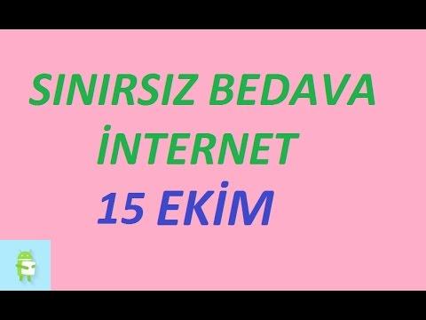 Türk Telekom Sınırsız Bedava İnternet 15 Eylül 2016