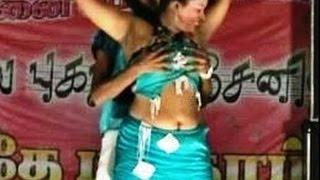 Latest Tamilnadu Village Record Dance Video / Tamil Adal Padal 2015 / Kalakkal Dance 004