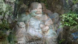 The Laughing Buddha Statue - Music If I Laugh Cat Stevens