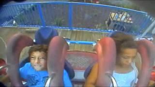 Boy cries on ride