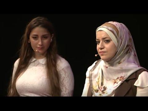 Xxx Mp4 On Wearing The Hijab Narjes Jaafar And Sally Beydoun TEDxLAU 3gp Sex