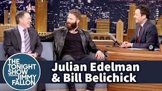 Jimmy Interviews Julian Edelman and Bill Belichick After Patriots' Comeback Super Bowl Win