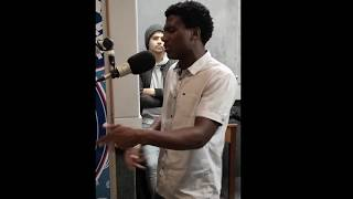 Zali freestyle on Good Hope FM cypher throwback session.