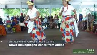 Nkwa Umuagbogho Dance Featured at the 2016 Igbo World Festival of Arts & Culture