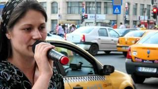 Rebeca Gulutanu Aduce Lauda Domnului In Bucuresti La Piata Uniri.