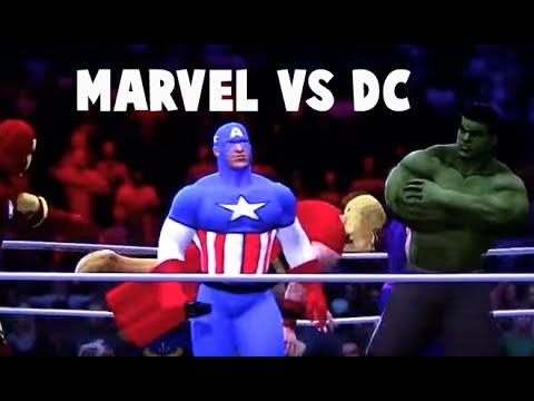 Marvel vs. DC Comics WWE 13