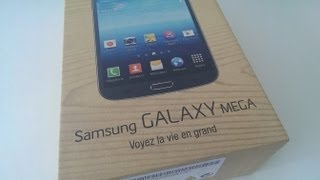 Samsung Galaxy Mega 6.3 Unboxing and First Impressions