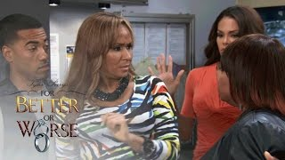 Jennifer and Keisha Have a Confrontation   Tyler Perry's For Better or Worse   Oprah Winfrey Network