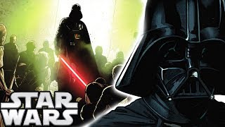 How Darth Vader Searched For Palpatine's Assassin - Star Wars Explained