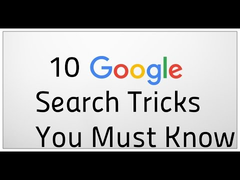 Top 10 Google Search Tricks Must Need To Know