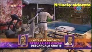 Dante y Patricio MOJAN ROPA INTERIOR EN LA PILETA!!!
