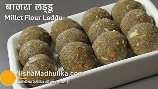 Bajra Atta  Ladoo -  Millet Flour Laddu Recipe