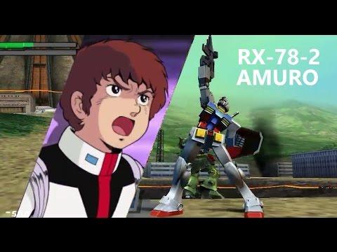 Gundam Vs. Gundam NEXT PLUS - Gundam RX-78-2 - Arcade Mission A (Route A)