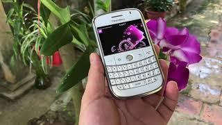 BlackBerry BOLD 9000 trắng sau 12 năm vẫn là thuốc độc cho anh em đam mê BlackBerry ...