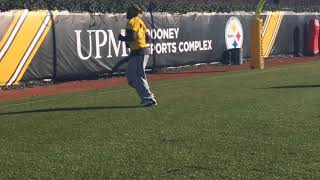 Steelers ILBs practice without Ryan Shazier